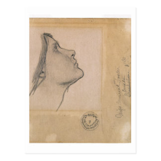 "Studie voor ""Lamia"", c.1904-05 (potlood op papier) Briefkaart"