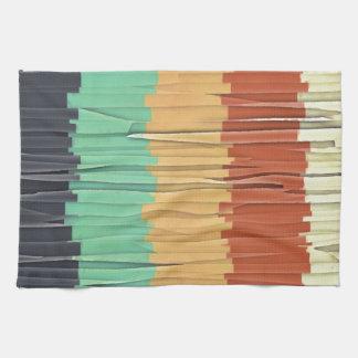 Stukjes van Kleur Handdoeken