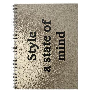 Style a state of mind - Notitieboekje Ringband Notitieboek