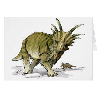 Styracosaurus - Dinosaurus Cretacous Kaart