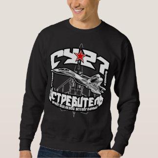 Su-27 T-shirt van het Sweatshirt van het Mannen