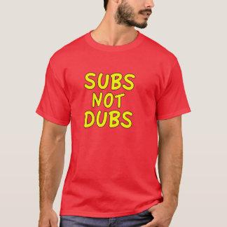 Subs niet Kopieën T Shirt