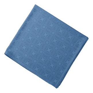 Subtiel Blauw Kruiselings Geometrisch Patroon Bandana