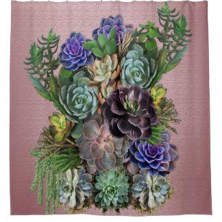Succulent Art. Gordijn 0