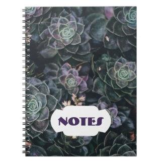 Succulente Nota's | Spiraalvormig Notitieboekje Ringband Notitieboek