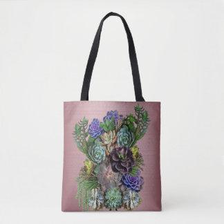 Succulente tuinman draagtas