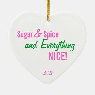 Suiker & Kruid & alles het ornament van NICE