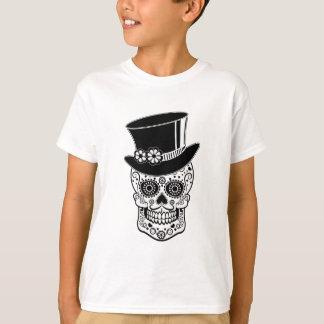 Suiker schedel-01 van de heer t shirt