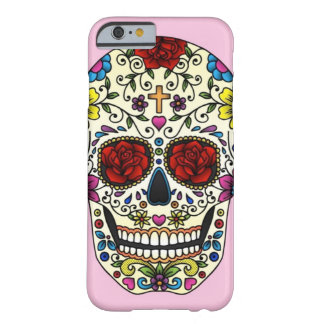 suiker schedel barely there iPhone 6 hoesje