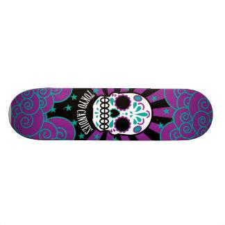 suiker schedel skate deck