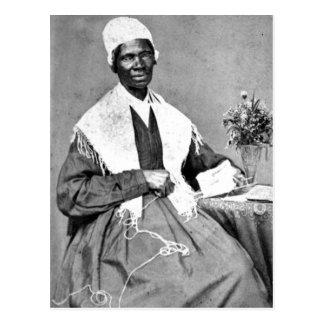 Summiere Carte DE visite van Sojourner Waarheid, Briefkaart