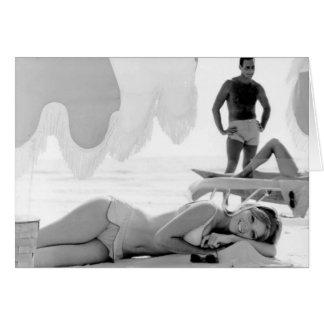 Sunbathers, Marco Eiland, Florida, 1966 Wenskaart