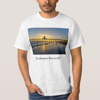 Sunset@Huntington Strand, CA T Shirt
