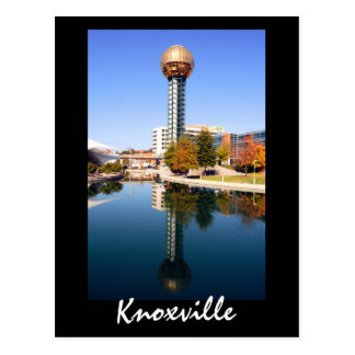 Sunsphere, Knoxville, Tennessee Briefkaart