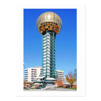 Sunsphere - Knoxville, Tennessee, de V.S. Briefkaart