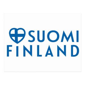 Suomi - postikortti van Finland Briefkaart