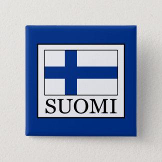 Suomi Vierkante Button 5,1 Cm