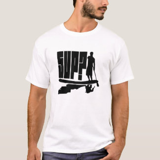 SUP? Het Silhouet van Paddlers T Shirt
