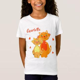 Super Gepersonaliseerd Leuk van de Kat en van het T Shirt