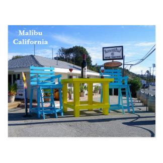 Super Koel Briefkaart Malibu!
