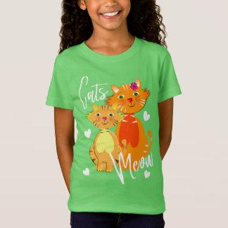 Super Leuk van de Miauw van de Kat en van het T Shirt