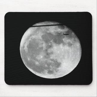 Super Maan met/Klantgericht Vliegtuig die Muismat