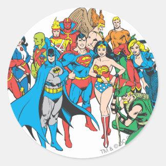 Super Powers™ Collectie 2 Ronde Sticker