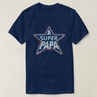 Super Rode Wit van de Pa en Blauw T Shirt