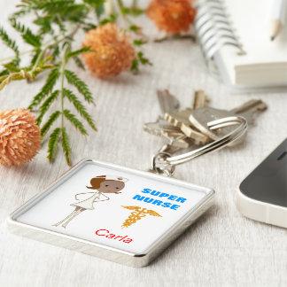 Super Verpleegster Keychain Sleutelhanger