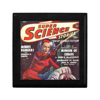 Super Wetenschap Vierkant Opbergdoosje Small