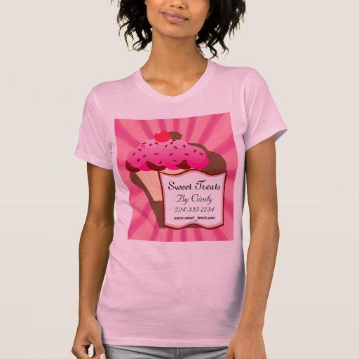 Super Zoete Bakkerij Cupcake T-shirt
