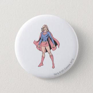 Supergirl stelt 3 ronde button 5,7 cm