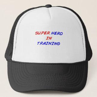 Superhero in Opleiding Trucker Pet