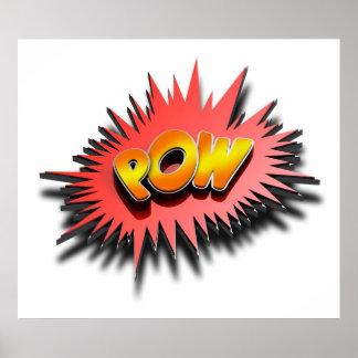 Superhero POW - Poster