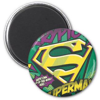 Superman 22 koelkast magneten