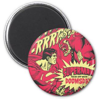 Superman 38 ronde magneet 5,7 cm