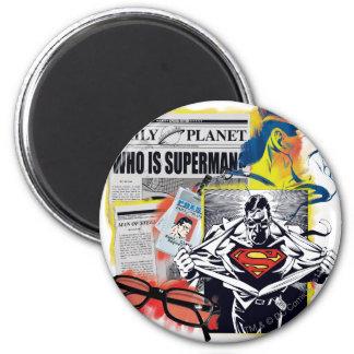 Superman 41 ronde magneet 5,7 cm