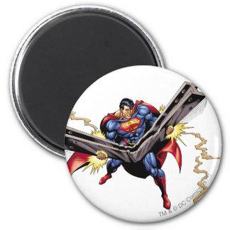Superman 42 ronde magneet 5,7 cm