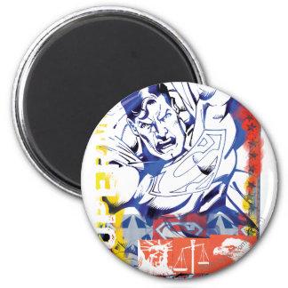 Superman 43 koelkast magneetje