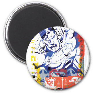 Superman 43 ronde magneet 5,7 cm