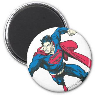 Superman 4 ronde magneet 5,7 cm