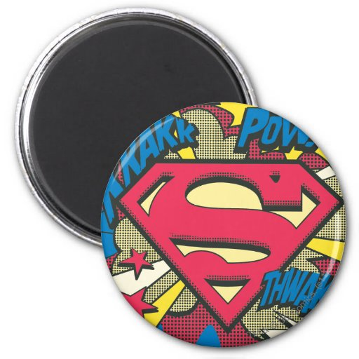 Superman 66 koelkast magneten