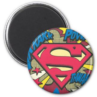Superman 66 ronde magneet 5,7 cm
