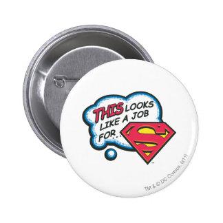 Superman 74 ronde button 5,7 cm