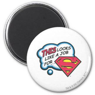 Superman 74 ronde magneet 5,7 cm