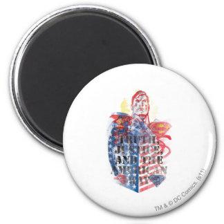 Superman 75 ronde magneet 5,7 cm