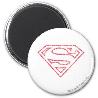 Superman 8 koelkast magneetje