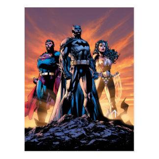 Superman, Batman, & Wonder de Drievuldigheid van Briefkaart