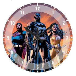 Superman, Batman, & Wonder de Drievuldigheid van Grote Klok