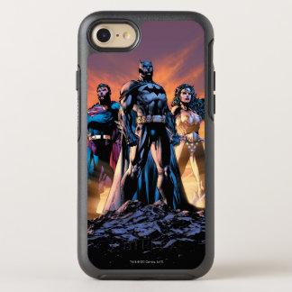 Superman, Batman, & Wonder de Drievuldigheid van OtterBox Symmetry iPhone 8/7 Hoesje